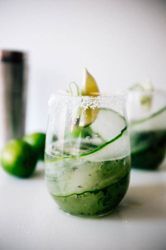 Cucumber Mojitaritas - Hill Reeves