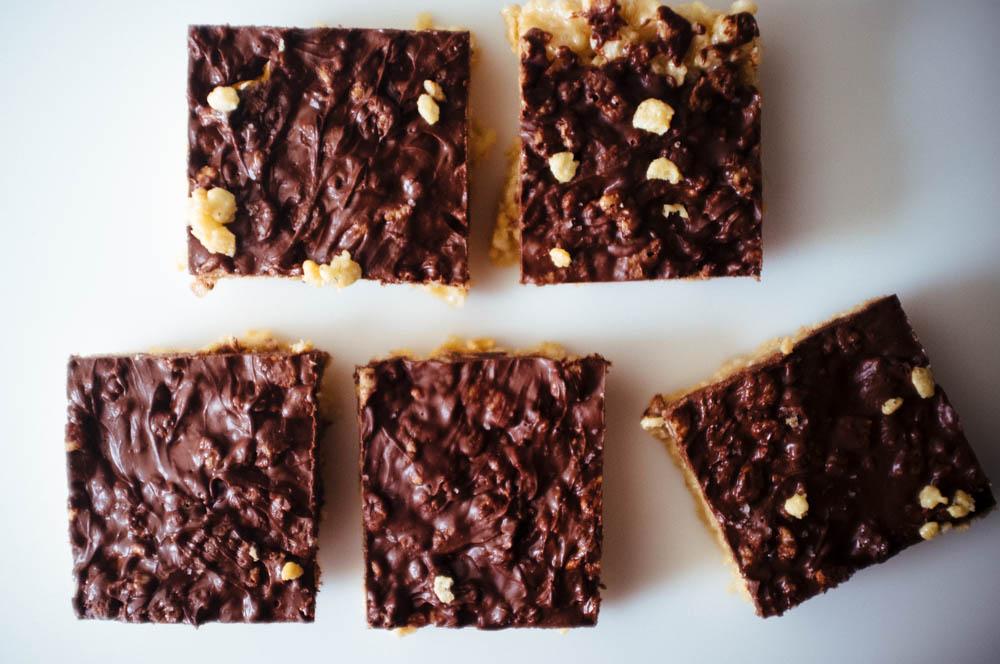 Tahini Cereal Treats - Hill Reeves