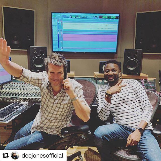 #Repost @deejonesofficial with @get_repost ・・・ Top studio ✅ Top Engineer ✅ Wonderful artist ✅ ... it's gonna be a great session!!! @therealdannyduncan @derinmusic @phaseonestudios #studiolife #producerlife #studio