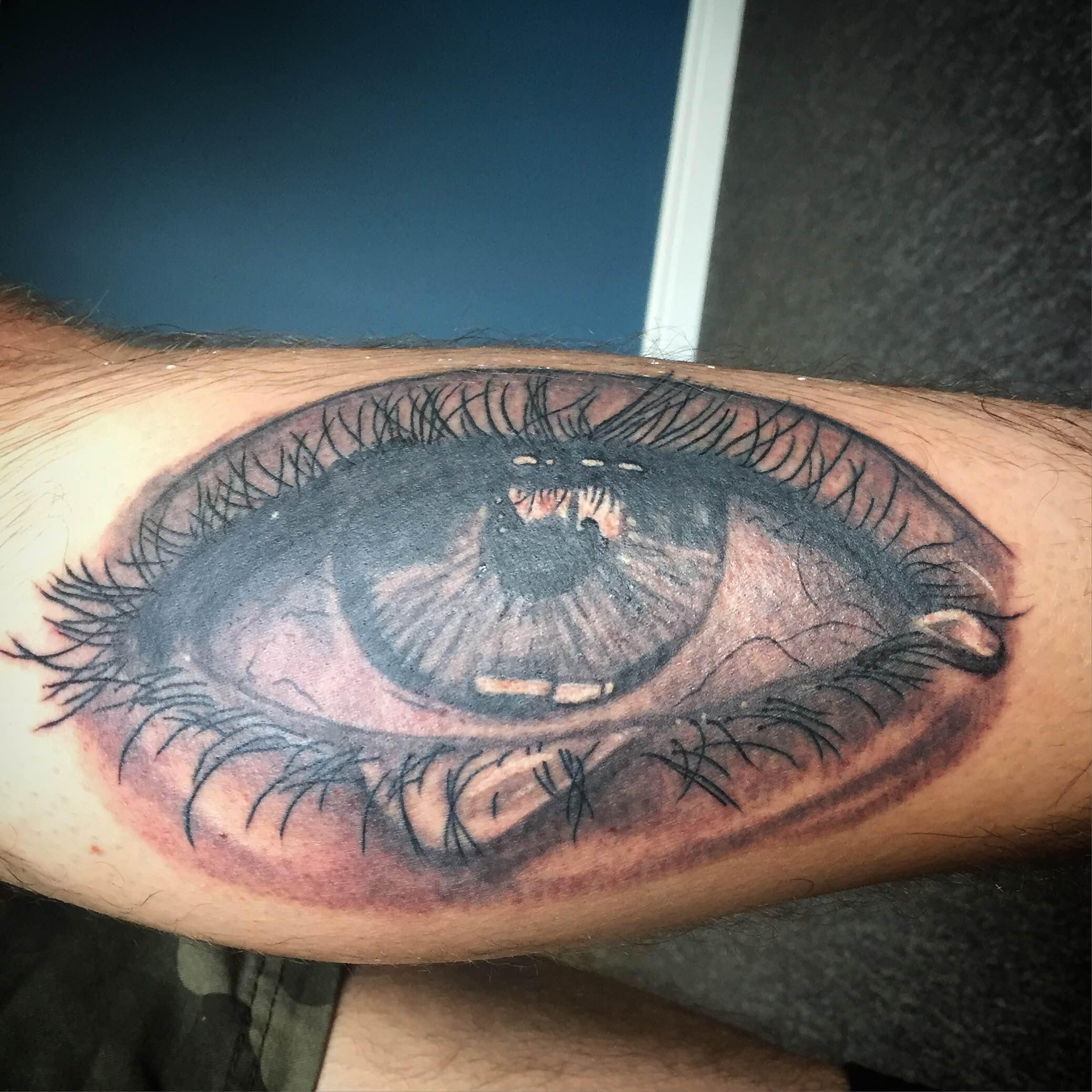 Eye Tattoo by Luke Jensen