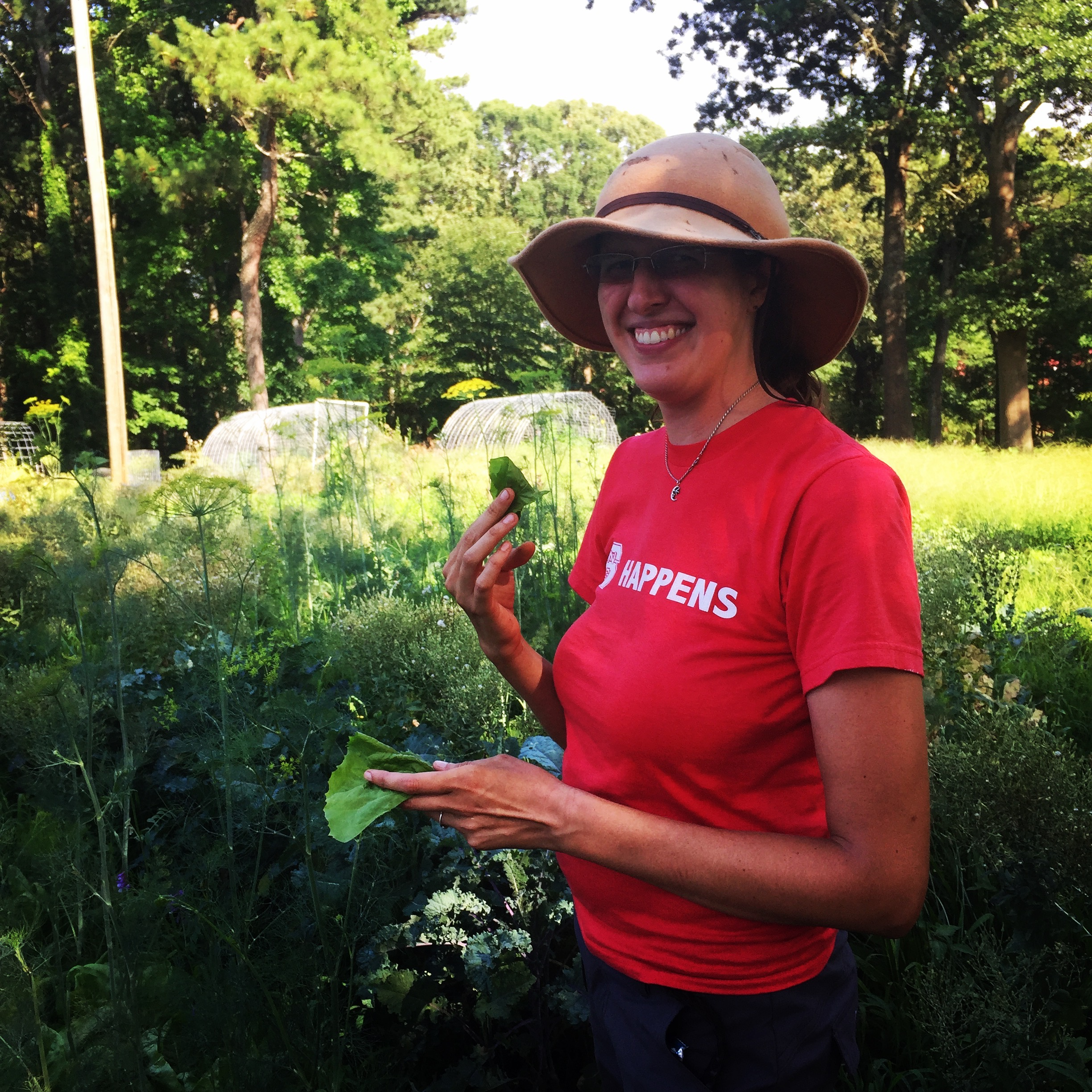 Founder of Ecosystems Farms Kirsten Simmons.