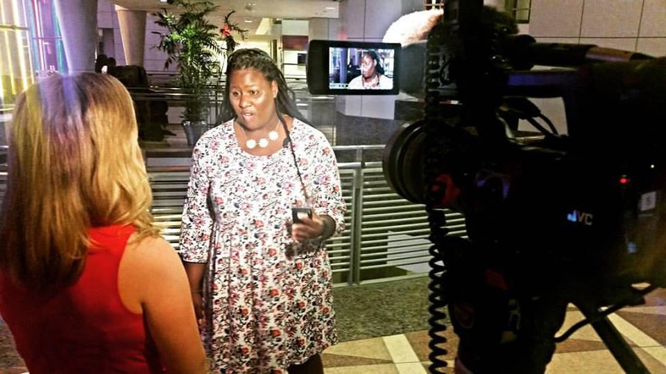 Becky Freemal Interviews Amnoni Myers