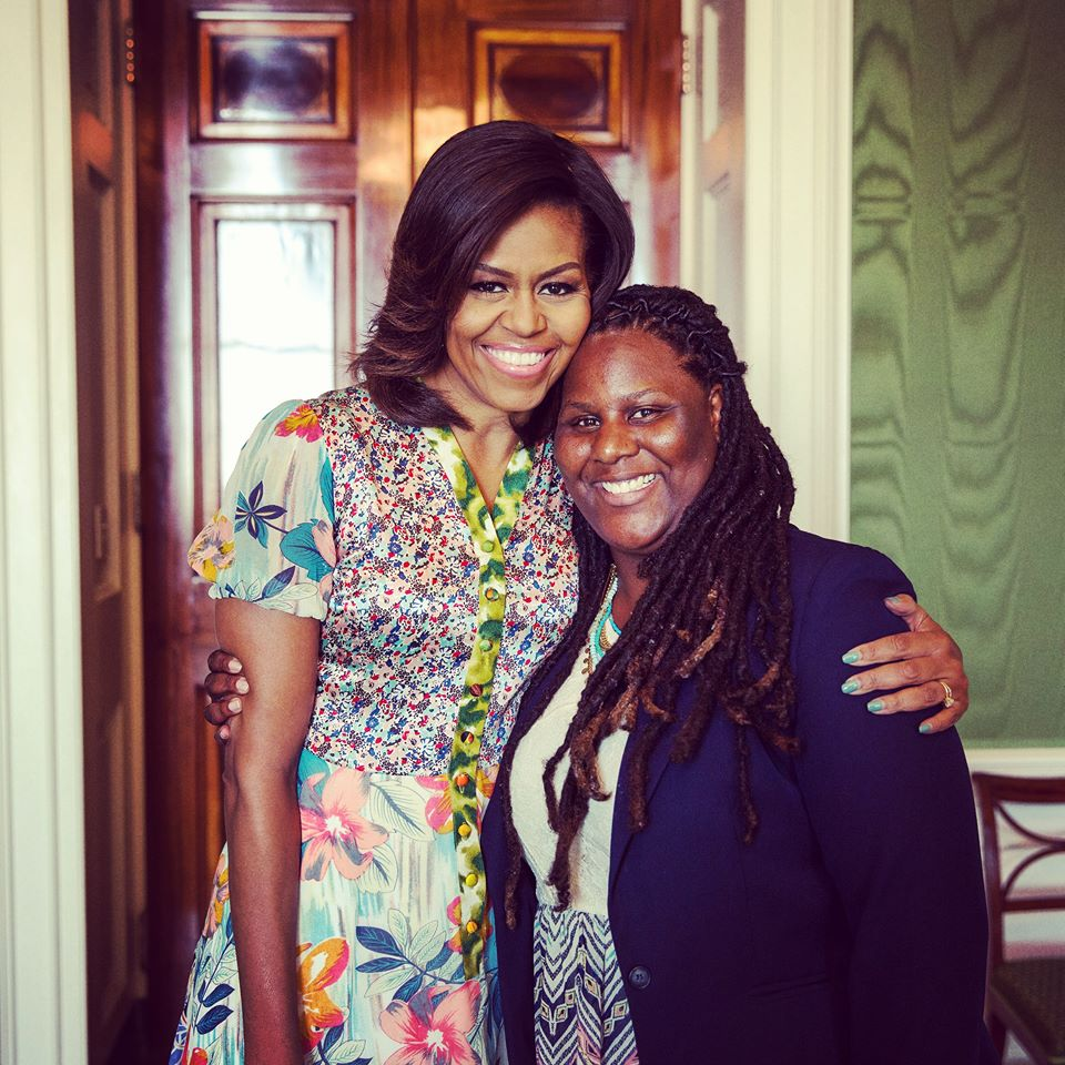 First Lady Michelle Obama and I 2015