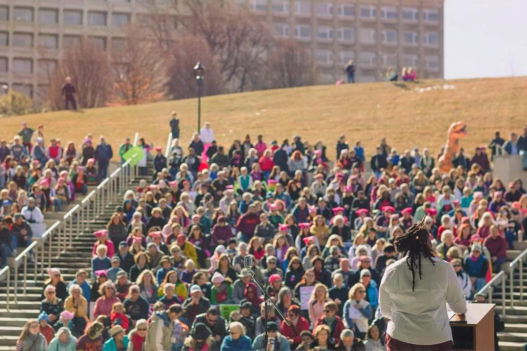 Roanoke Women's March 2018
