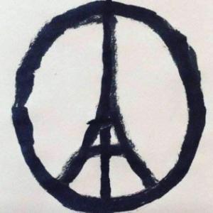"""""""Peace for Paris, Jean Jullien"""