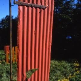 Detail of Gate Spiral, sculptural installation,Lumdsden, Scotland . Paula Brett