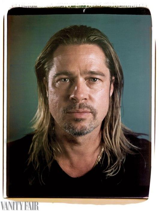 Brad Pitt, Chuck Close