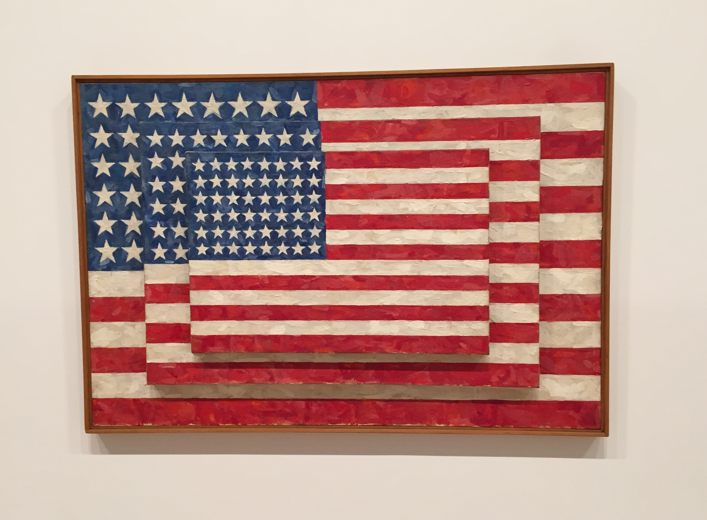 Three Flags , Jaspar Johns