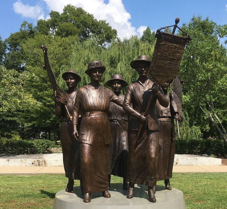 Courtesy of LeQuire Gallery ; Tennessee Woman Suffrage Monument;