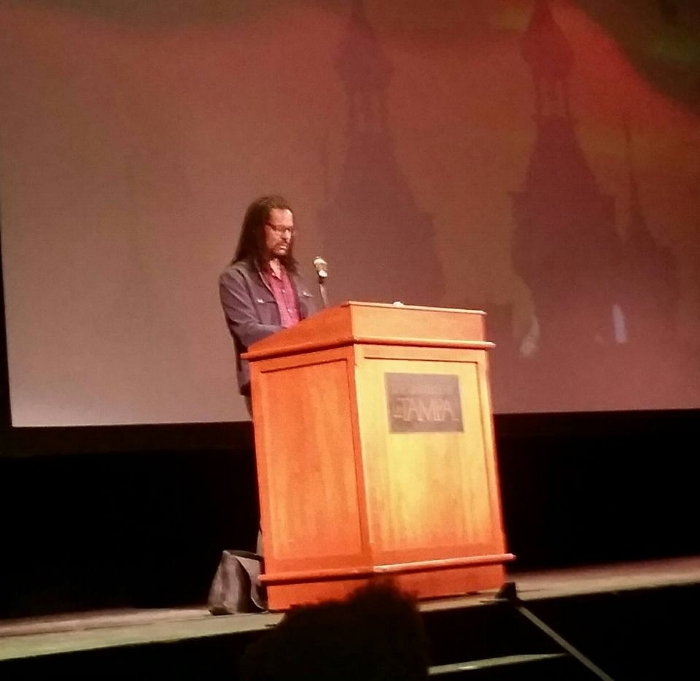 Colson Whitehead, University of Tampa, 2017