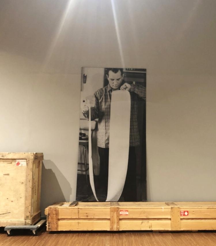 Jack Kerouac image @Bob Rauschenberg Gallery, Fort Myers