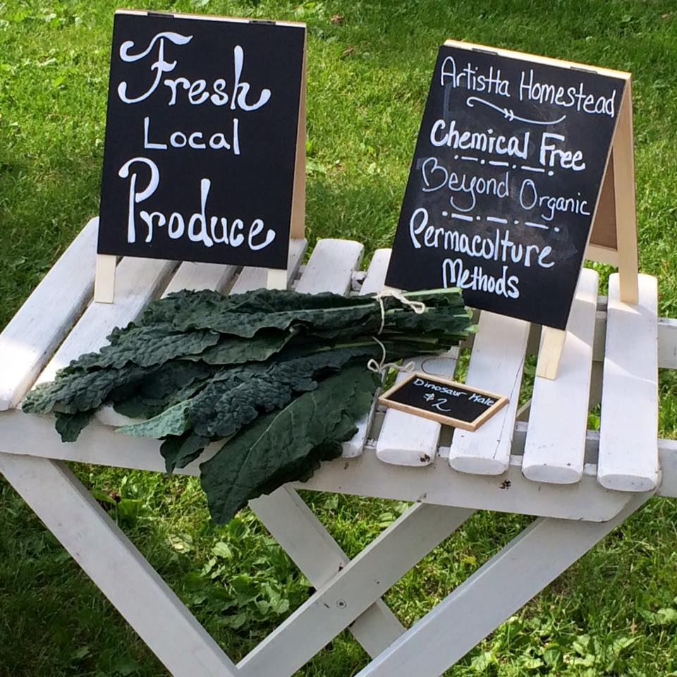 Our Farmers Market; focused on nutrient dense food.