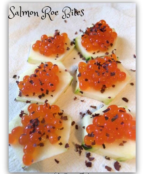 Salmon Roe Bites
