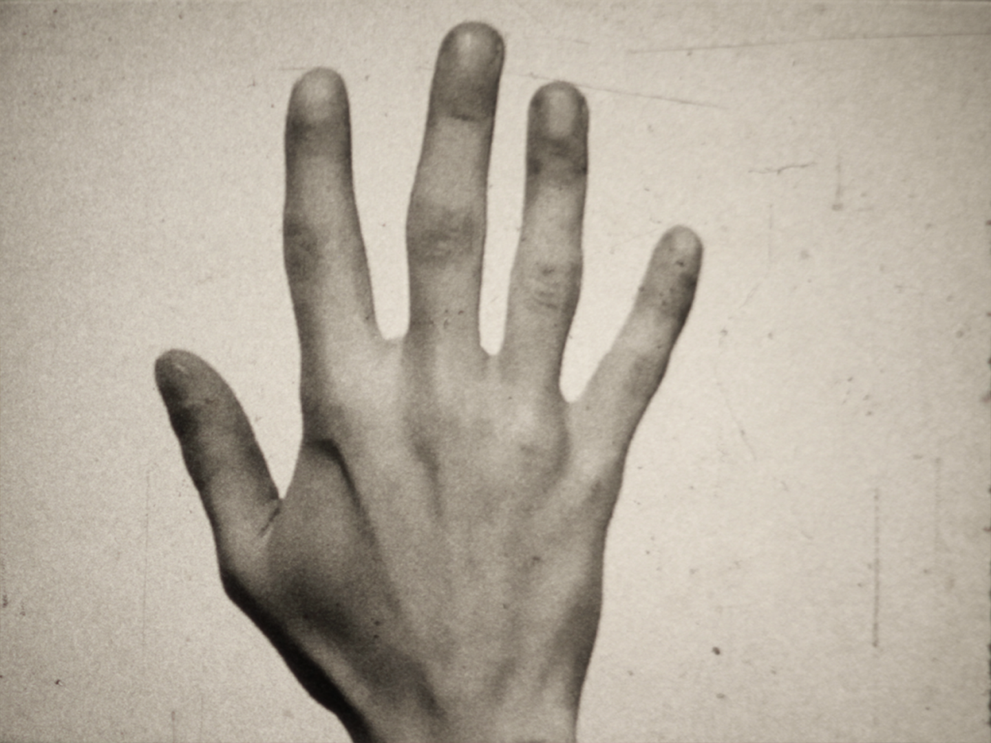 """Fifth Metacarpal    """"I broke my hand last summer."""" A memoir of tenderness hazarded, muted ache, and a fiberglass cast.  Scott Fitzpatrick  Canada, 2018, 6:00 mins  Visit the   artist's Vimeo page here  ."""
