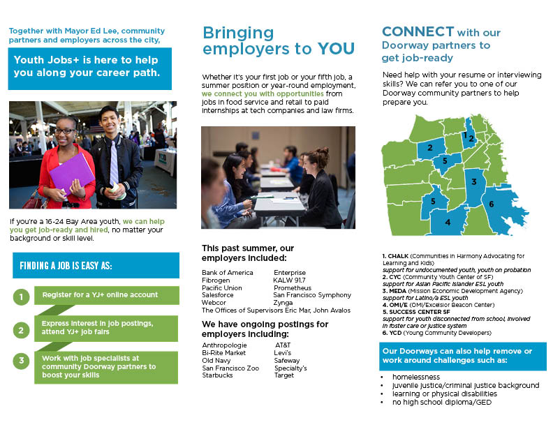 Youth engagement brochure (1/2)