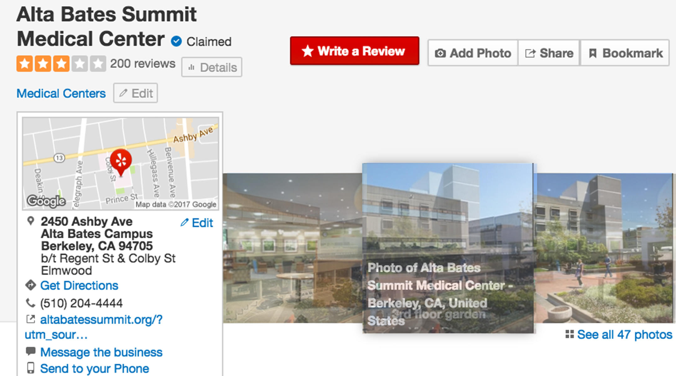 You can now check your hospital's c-section rate on Yelp (The Bump)