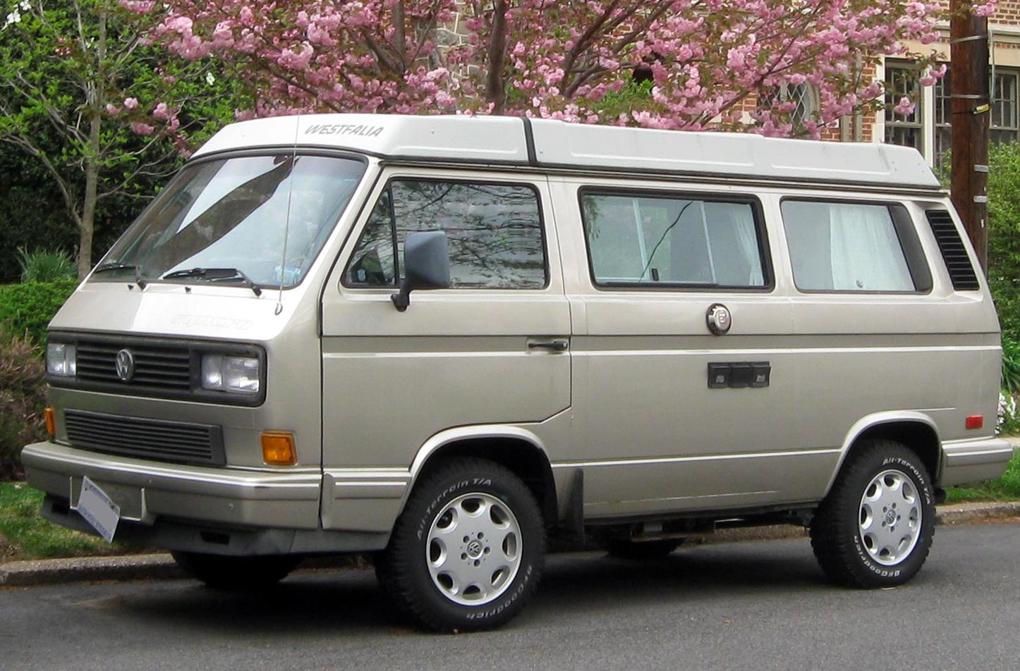 A Volkswagen Westfalia