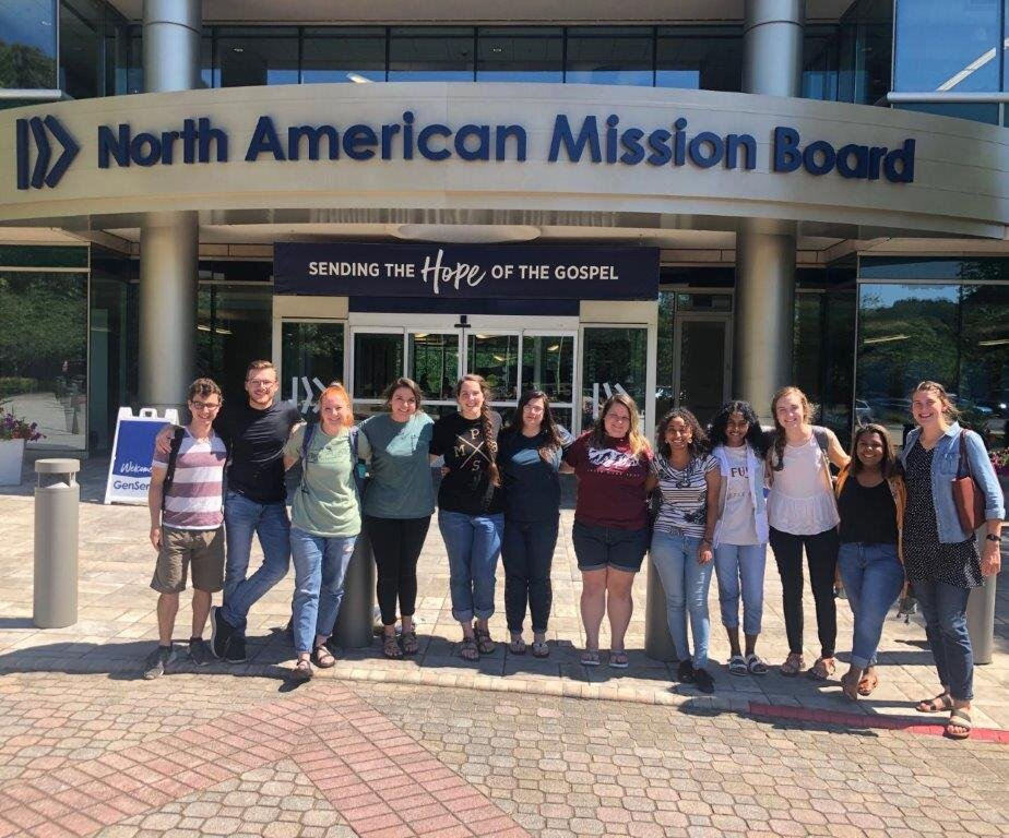 Students at North American Mission Board