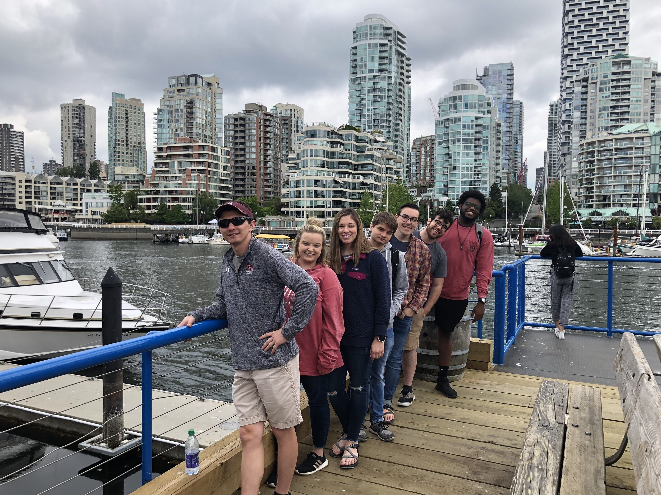 Group of students in Vancouver