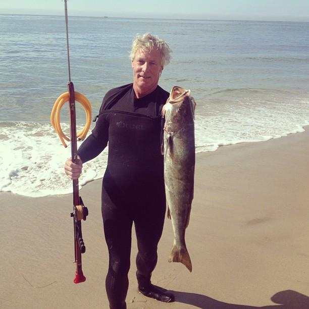 White Sea Bass taken in Malibu, California