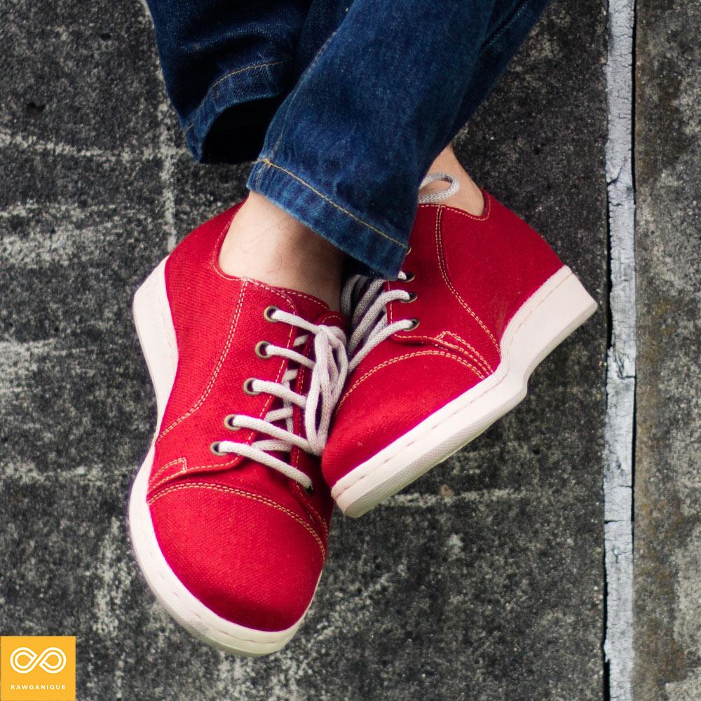 Handmade Urban Explorer Hemp Sneakers