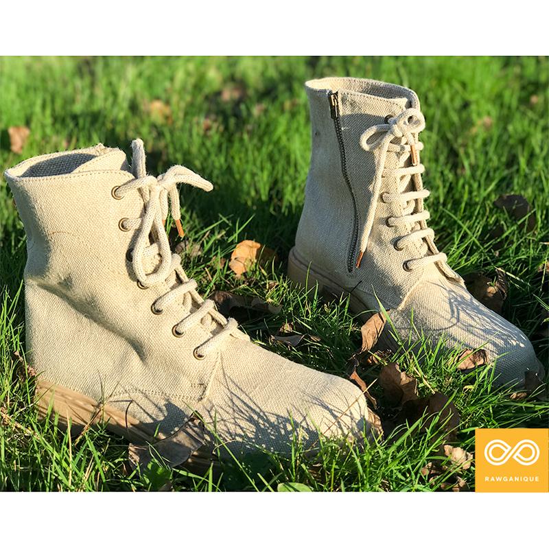 Handmade Bond Street Hemp Boots