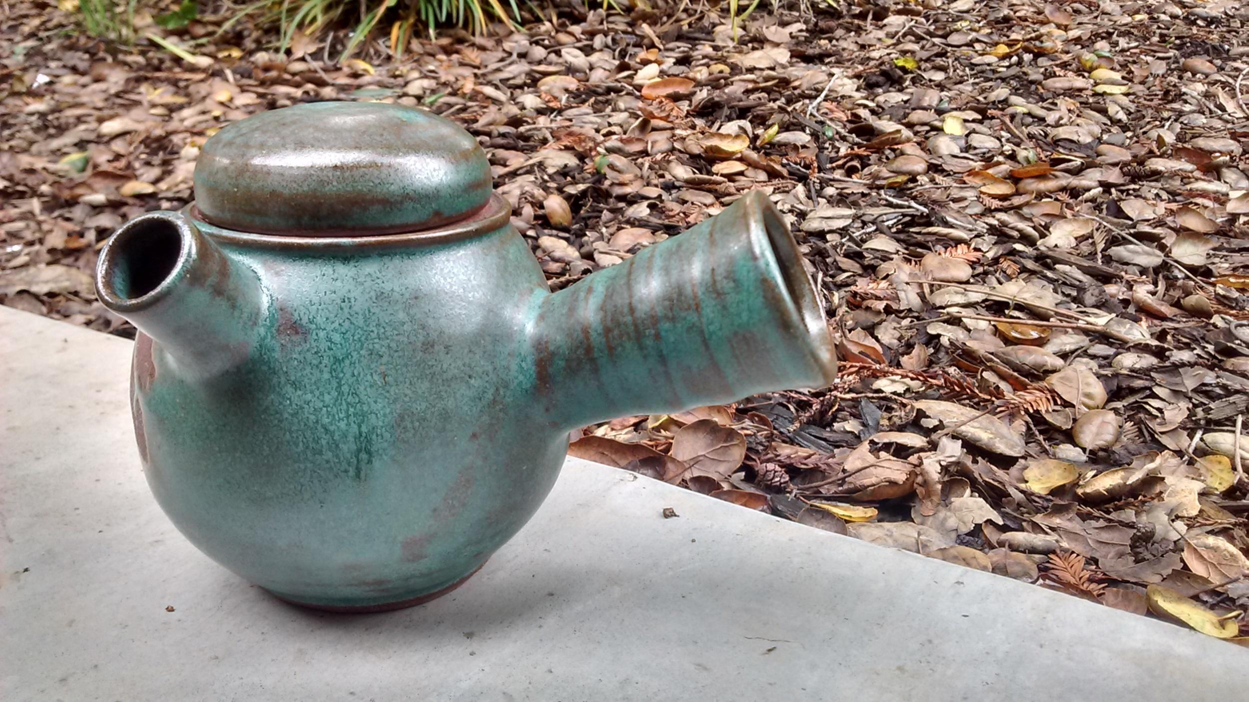 Emerald Tea Pot