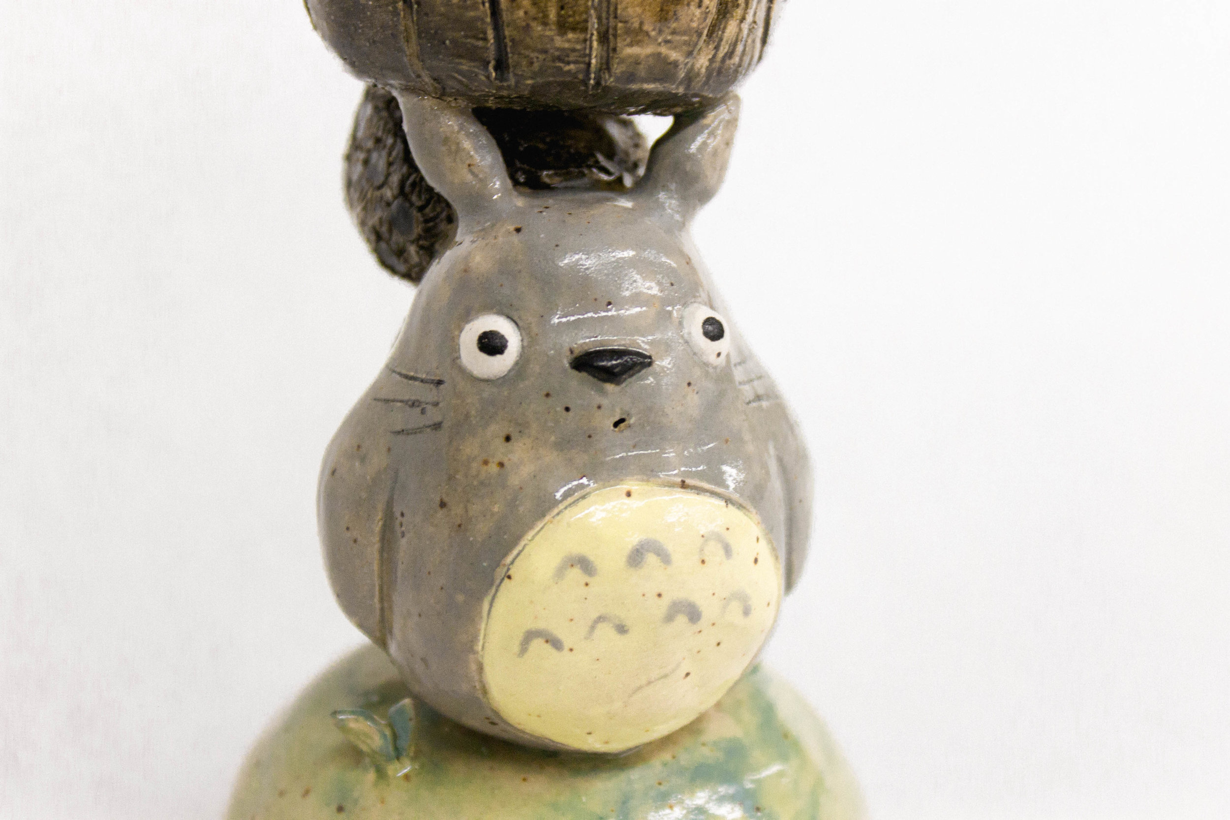 Totoro Inspired Chalice (Detail)