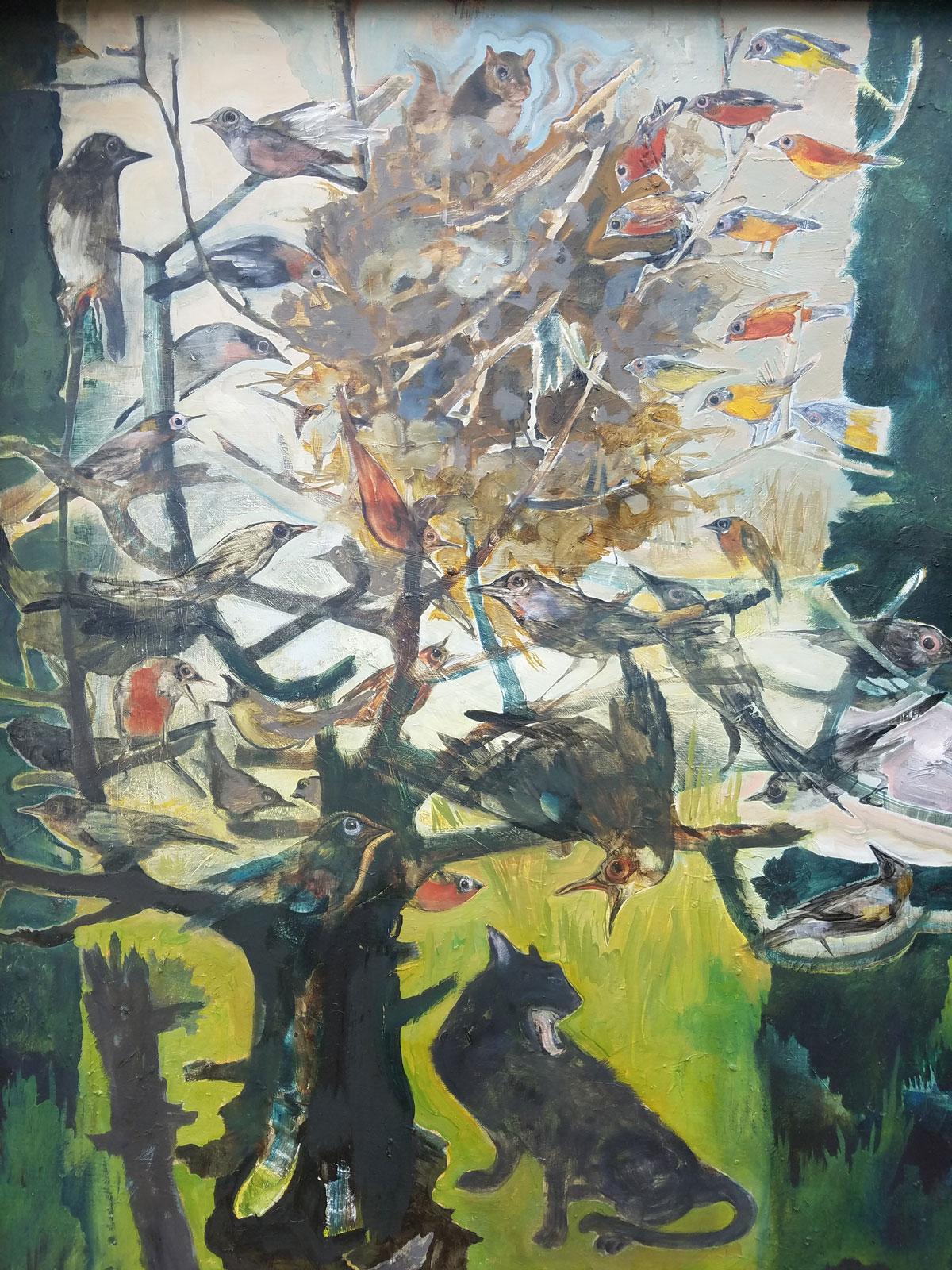 Squirrel's Nest  by Diane Kilgore Condon