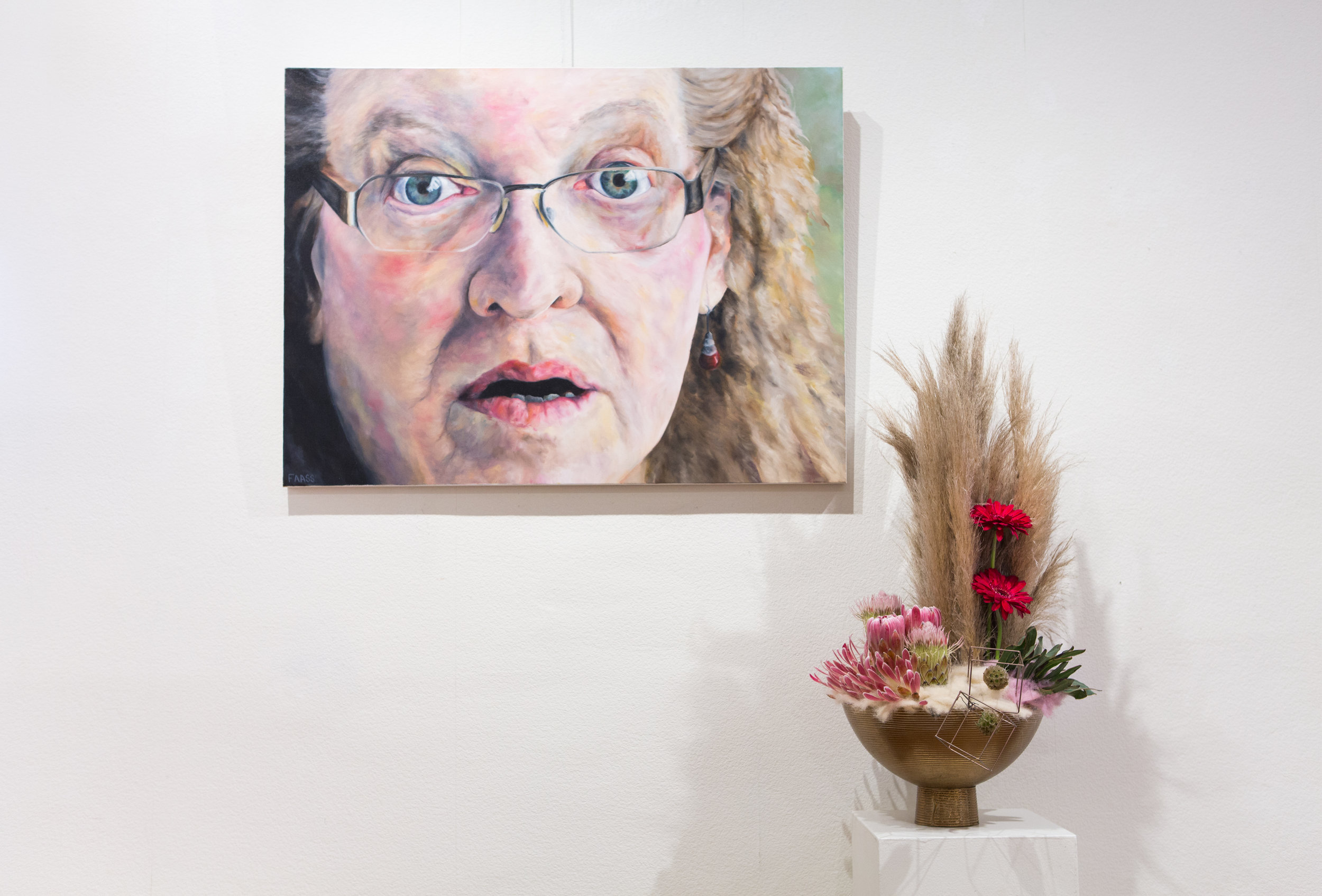 The Tone of Disbelief  by Jacqueline Faass so wonderfully interpreted by Beth Hohensee,  Studio Flora Diva
