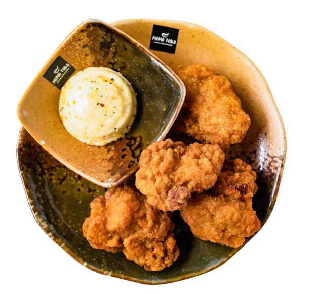 Chicken Karaage -5,50€ - Uppo-Paistettua Kanapaloja & Sitruuna-Valkosipuli Mayo(G, M)