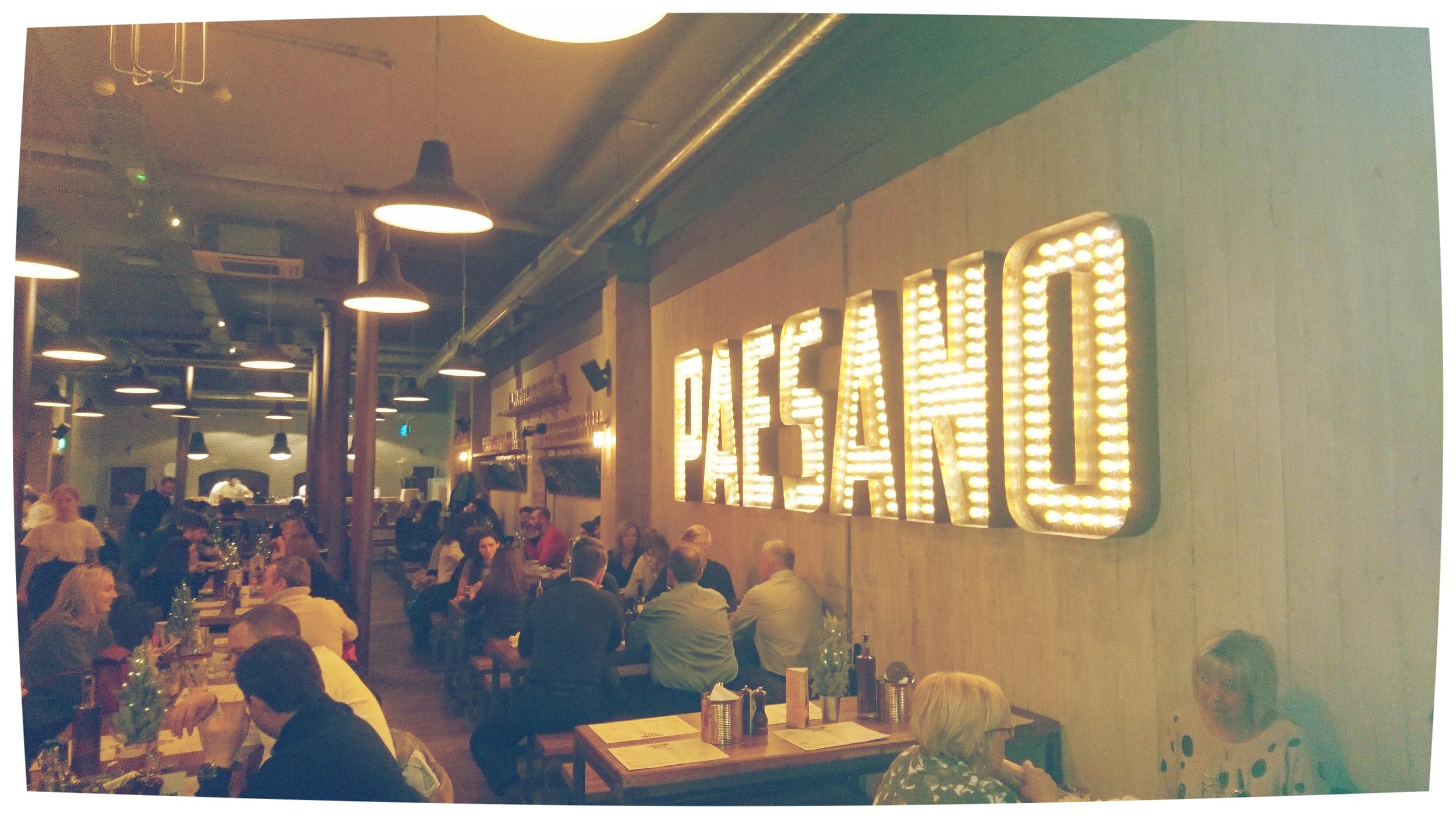 Paesano Pizza 94 Miller St Glasgow G1 1dt Scottish Food
