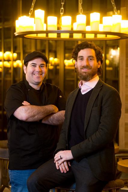 Francisco Martinez and Tomas Maunier
