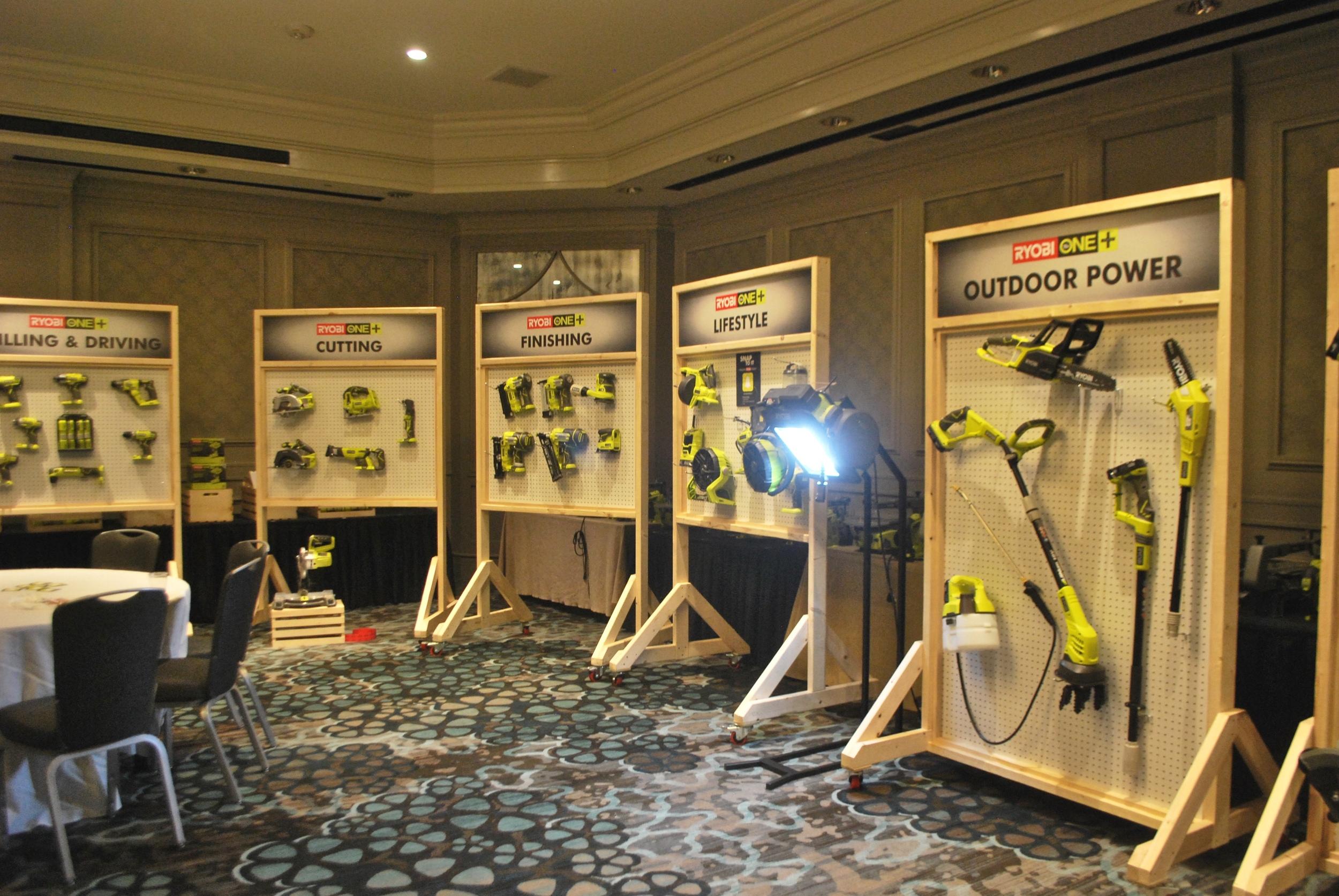 Haven Conference Ryobi Sponser Tool Room