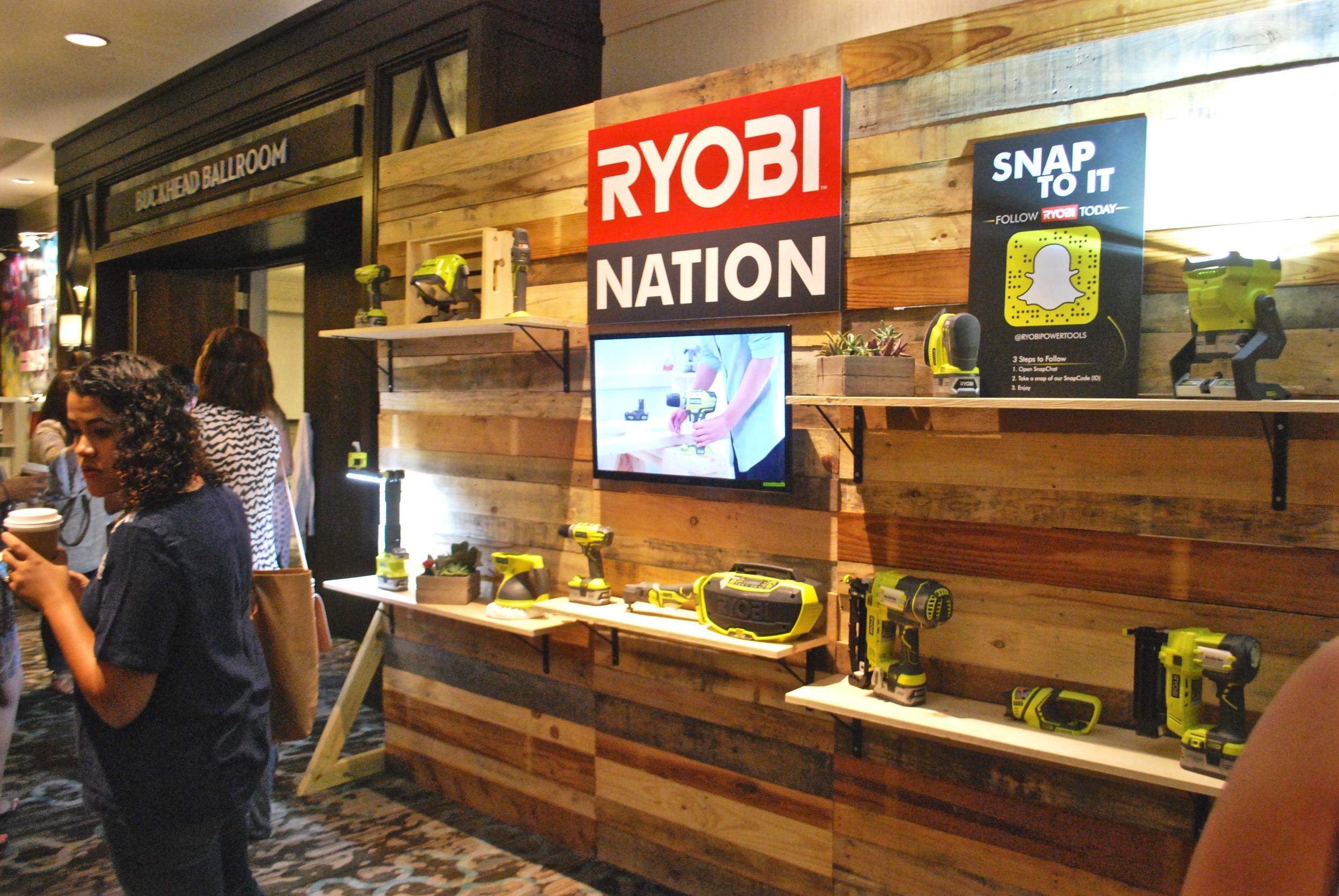 Haven Conference Ryobi Sponser Booth