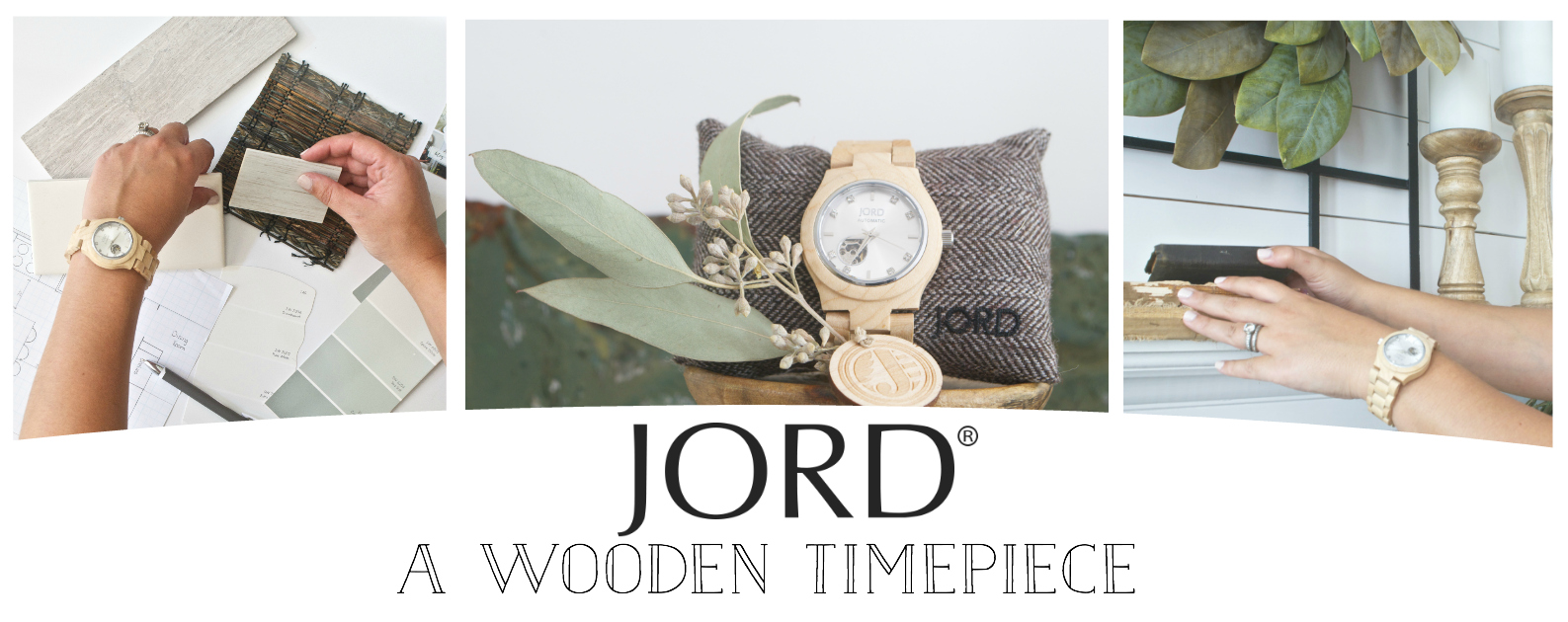 Jord Watch- A Wooden Timepiece, Designer Approved