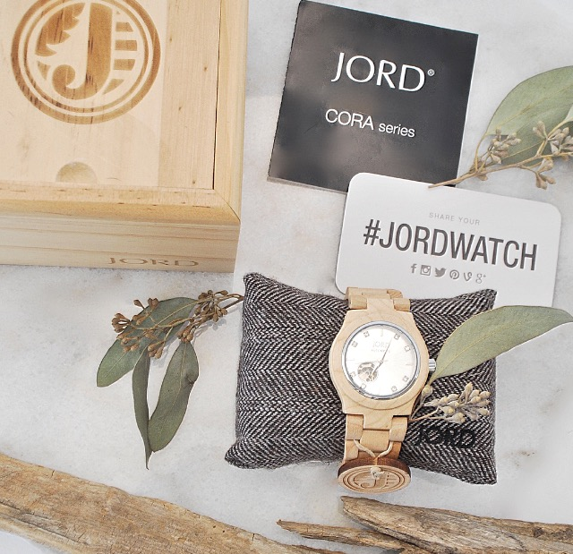 Jord Watch- Natural wood watch- Wooden Watch Timepiece