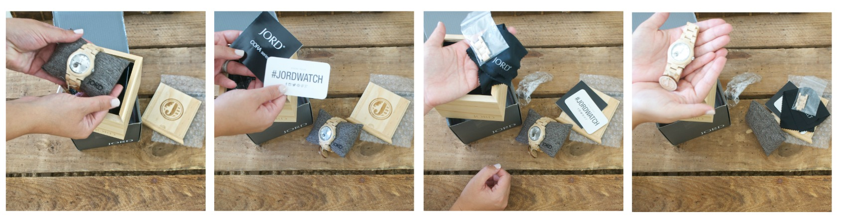 Jord Watch- Wooden Watch- Unpacking