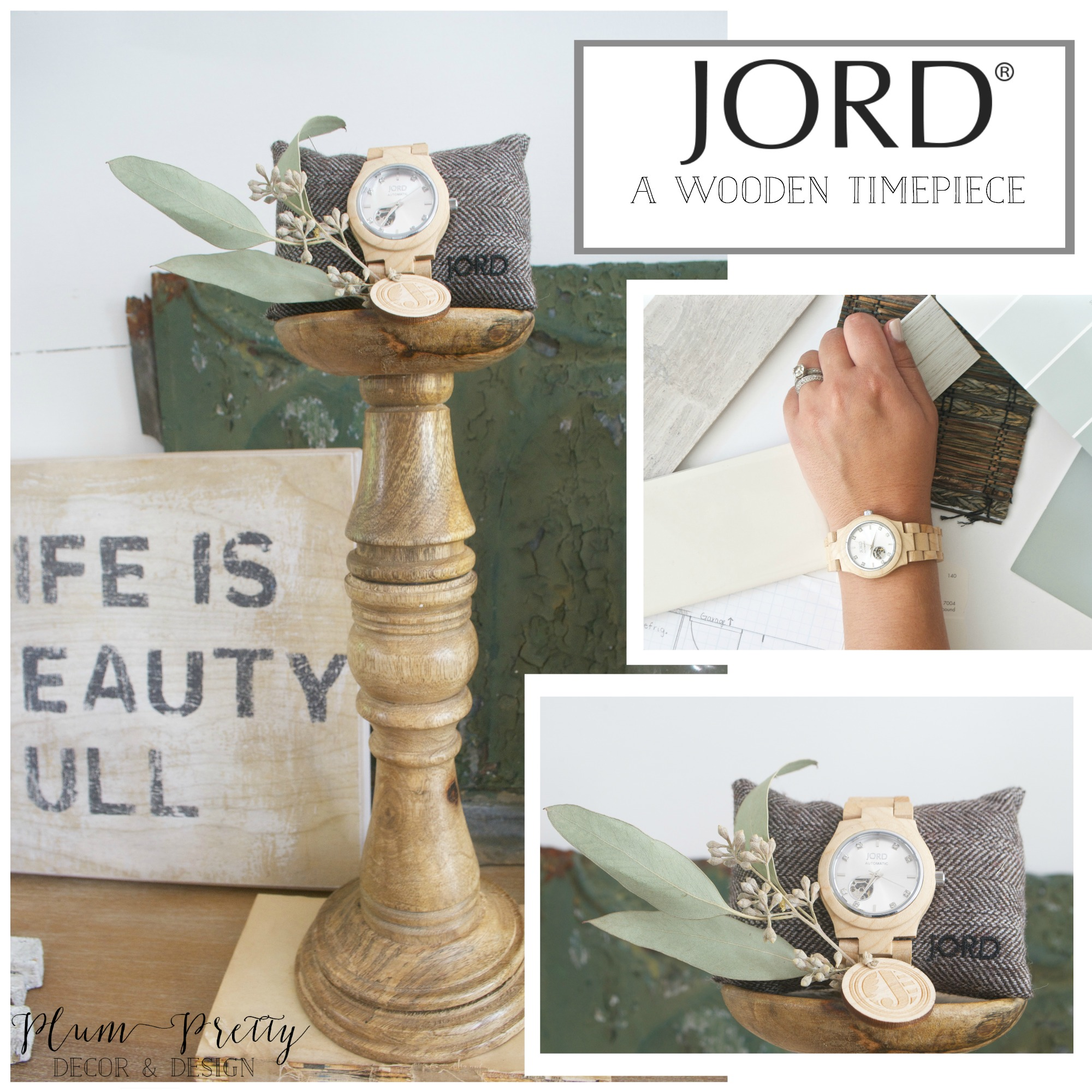Plum Pretty Decor and Design and Jord Watch Giveaway