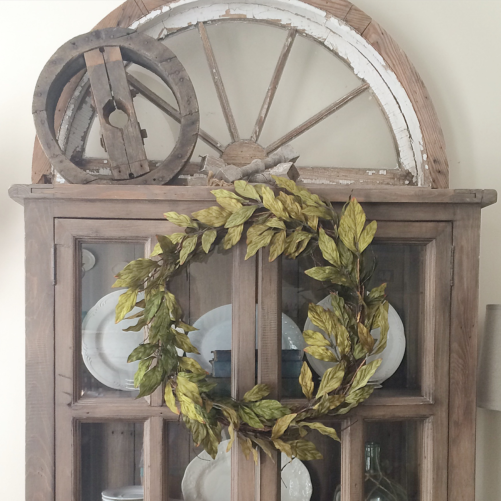 Farmhouse Display Cabinet