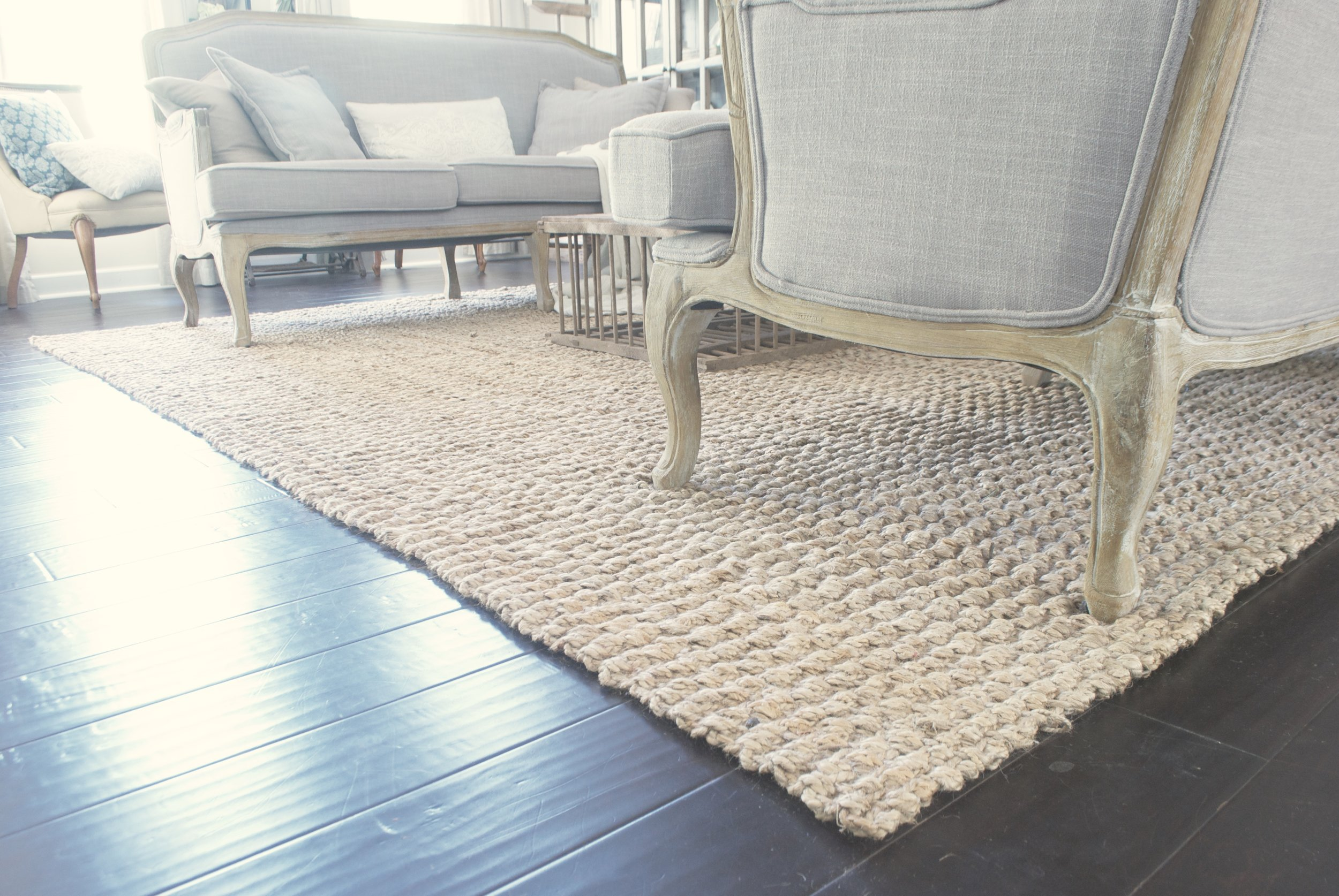Farmhouse Rug- Jute Rug from World Market