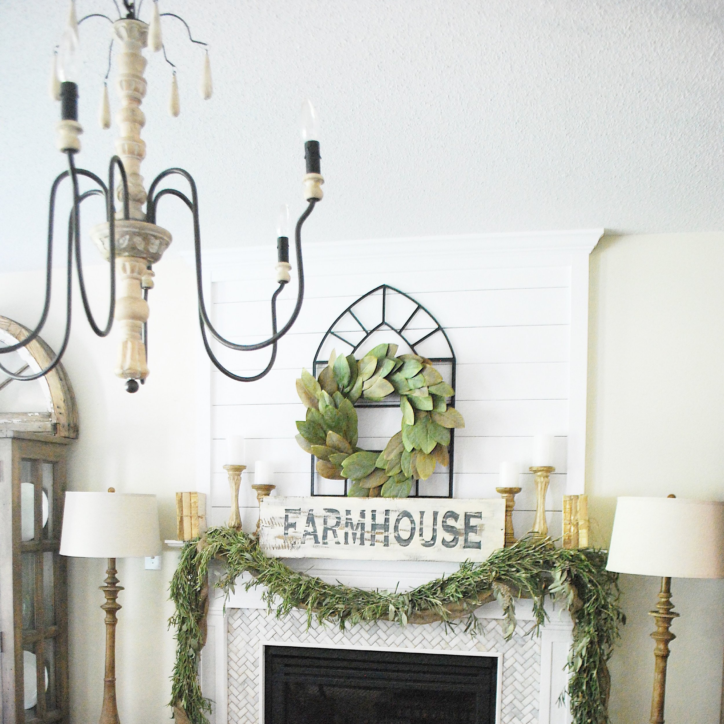 World Market Farmhouse Chandelier