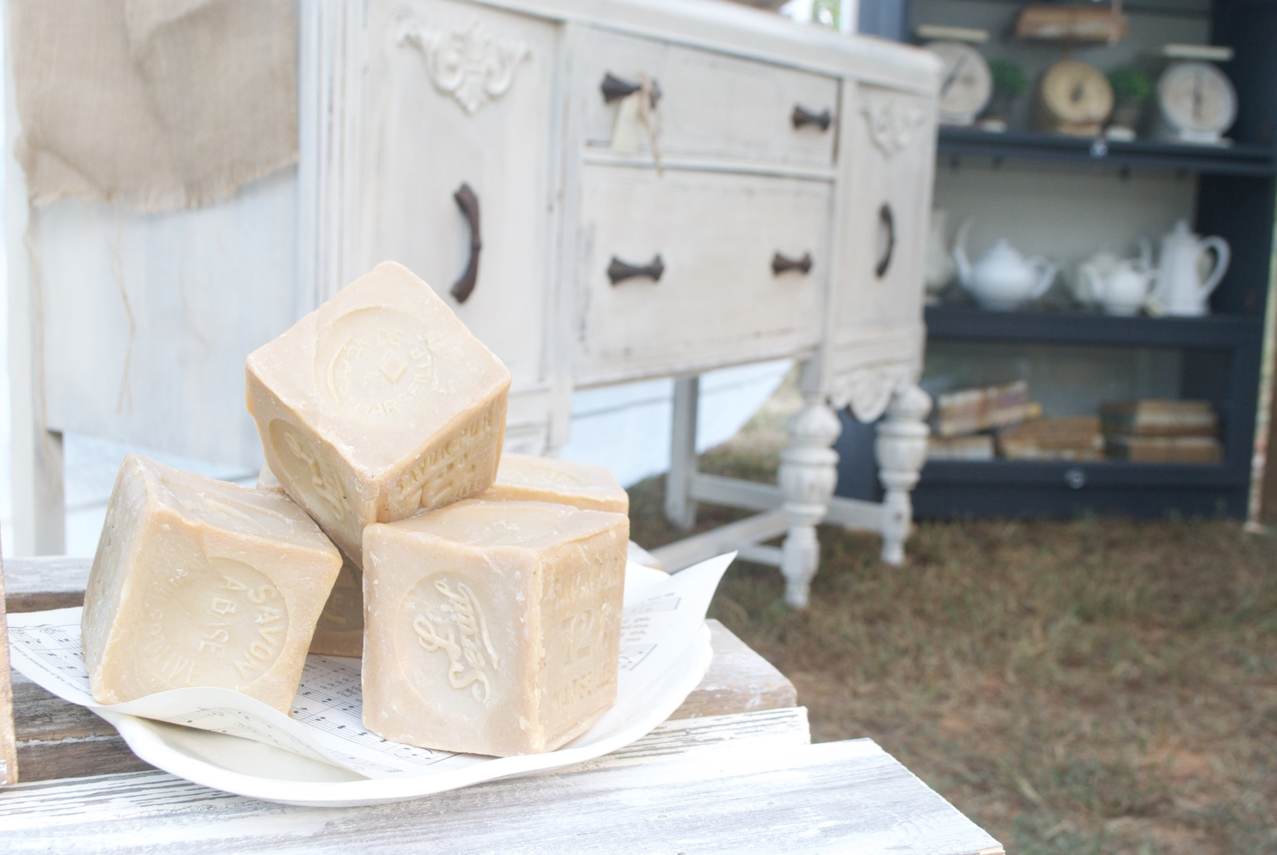 The Gray Door Market Pop Up 2016- Plum Pretty Decor and Design- French Soap