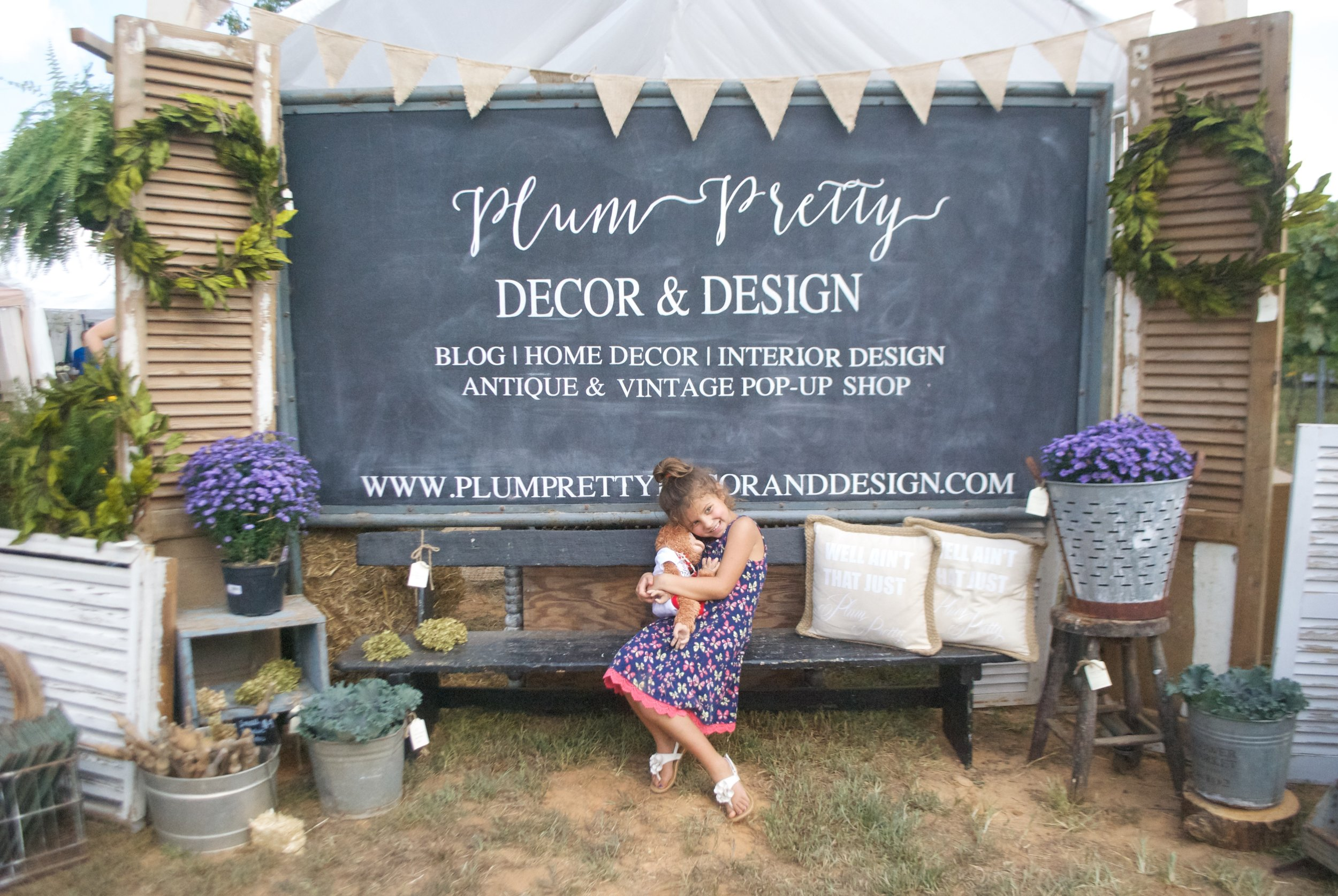 Plum Pretty Decor and Design- Family at my show