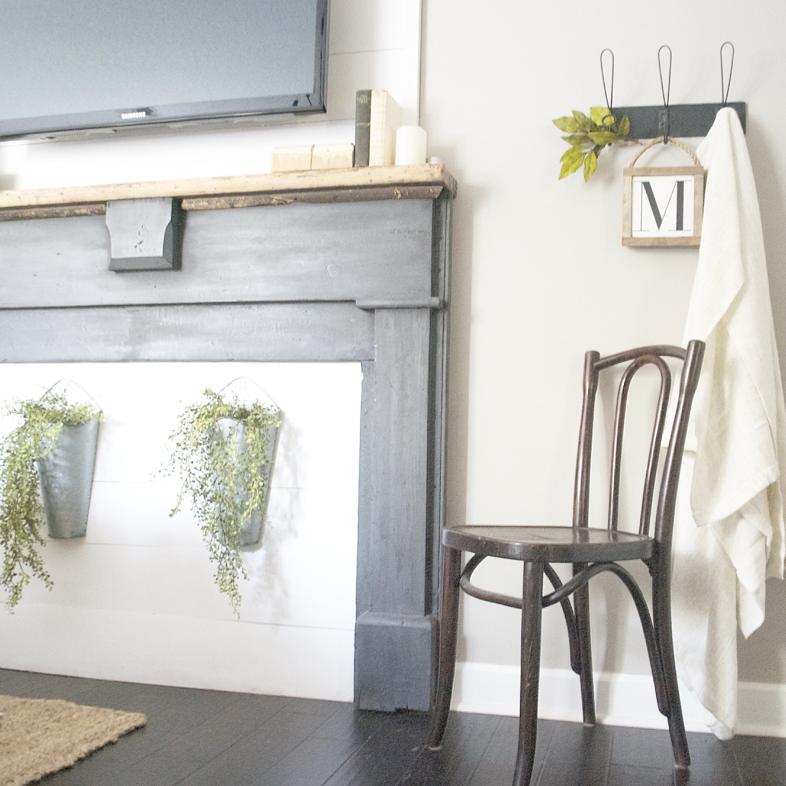 Plum Pretty Decor and Design Farmhouse Master Bedroom Tour- Entry