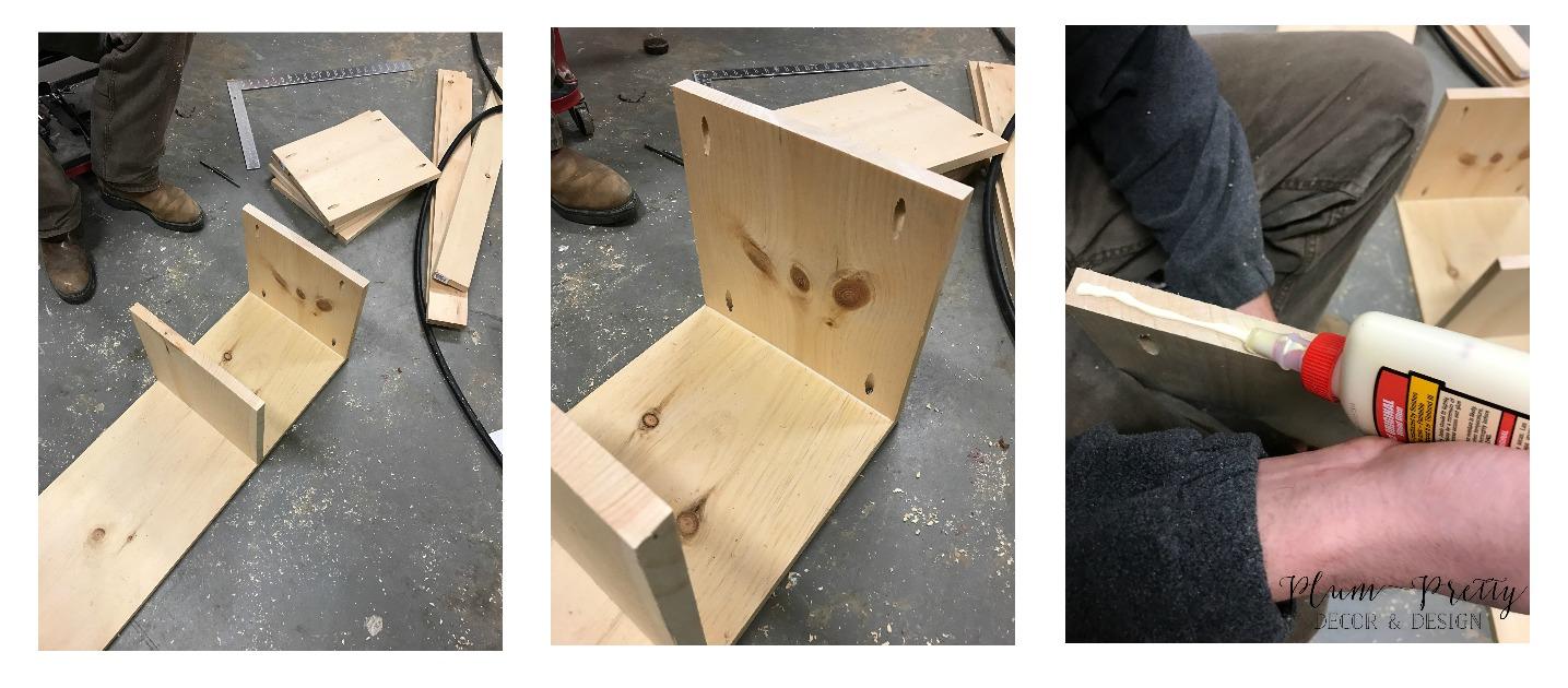 DIY Nesting Box Tutorial- Building Process- Plum Pretty Decor and Design