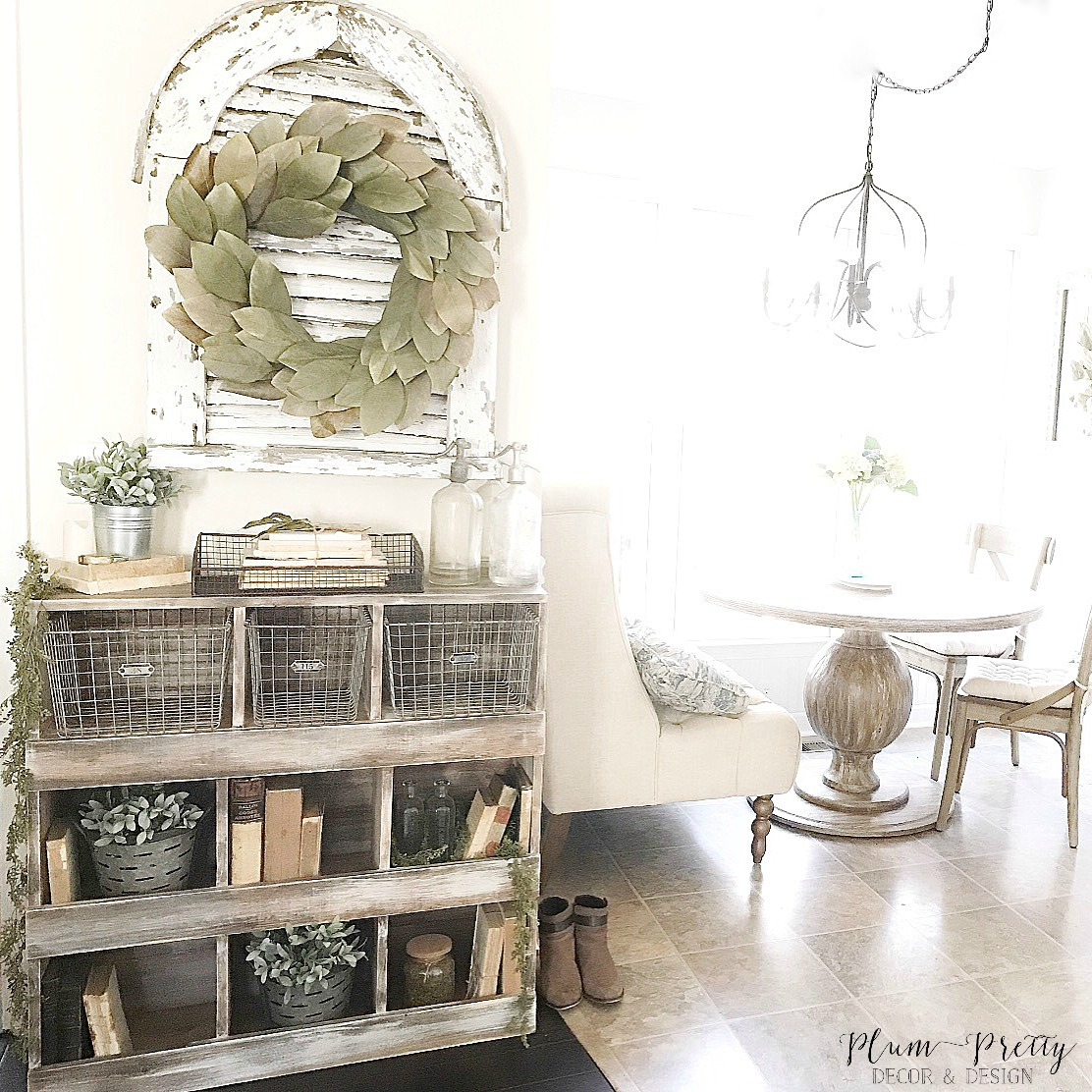 DIY Nesting Box Tutorial- Printables, 3D Images, Complete tutorial by Plum Pretty Decor and Design