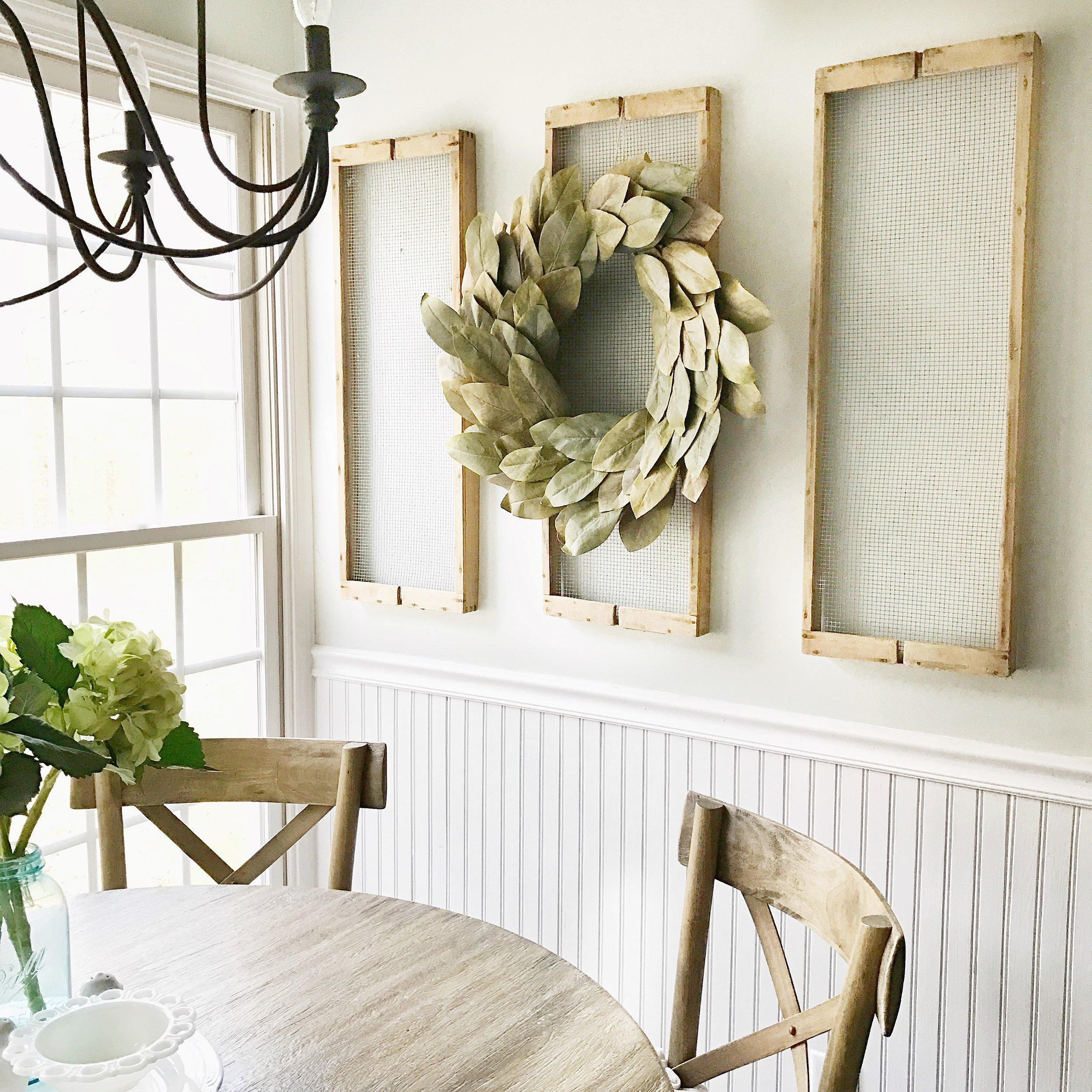 Antique Drying Rack Wall Decor- Plum Pretty Decor and Design