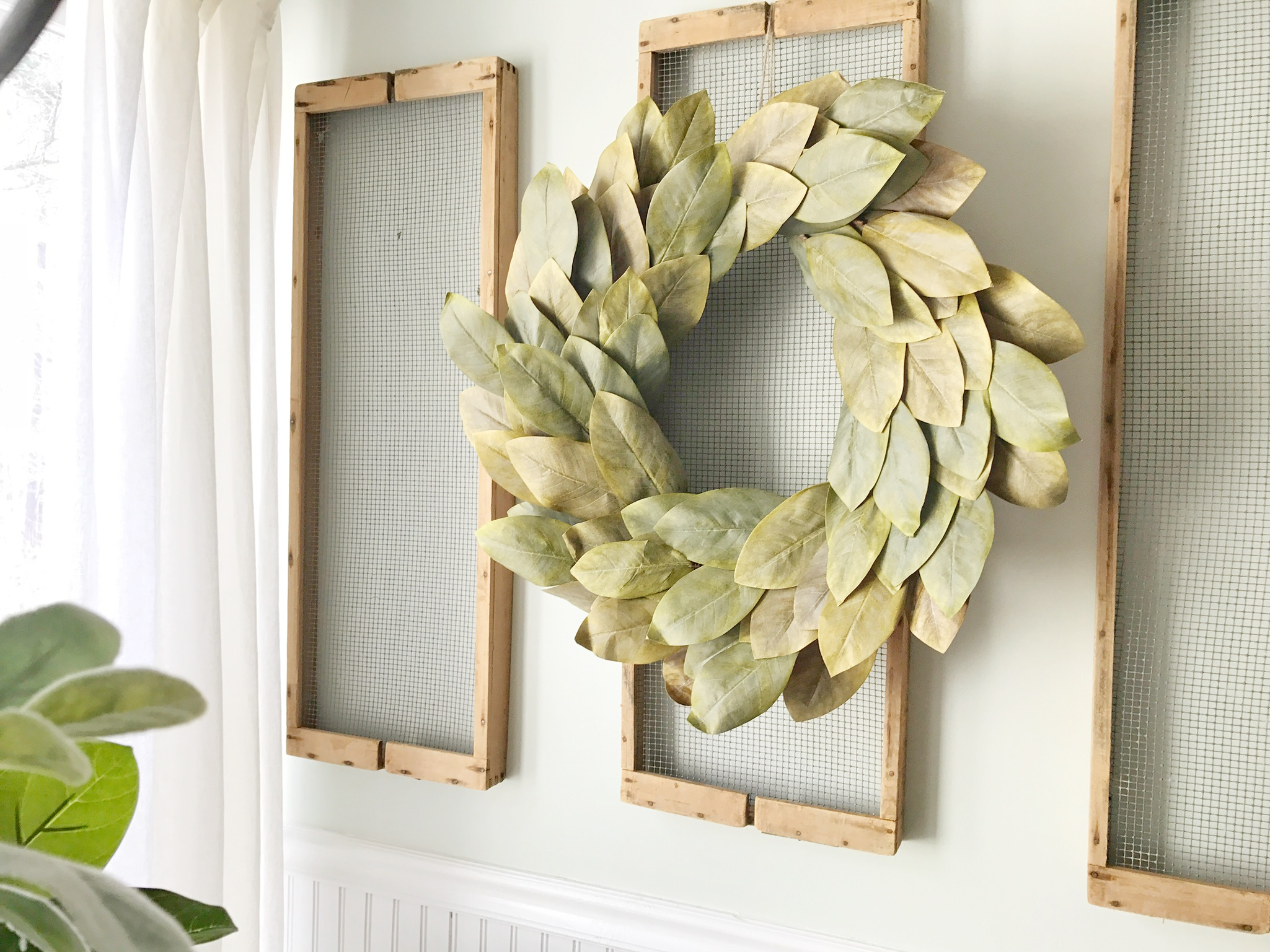 Neutal Decor Advice- How You Can Have a Transitional Home and Keep Your Decor Up Year Round- By Plum Pretty Decor and Design