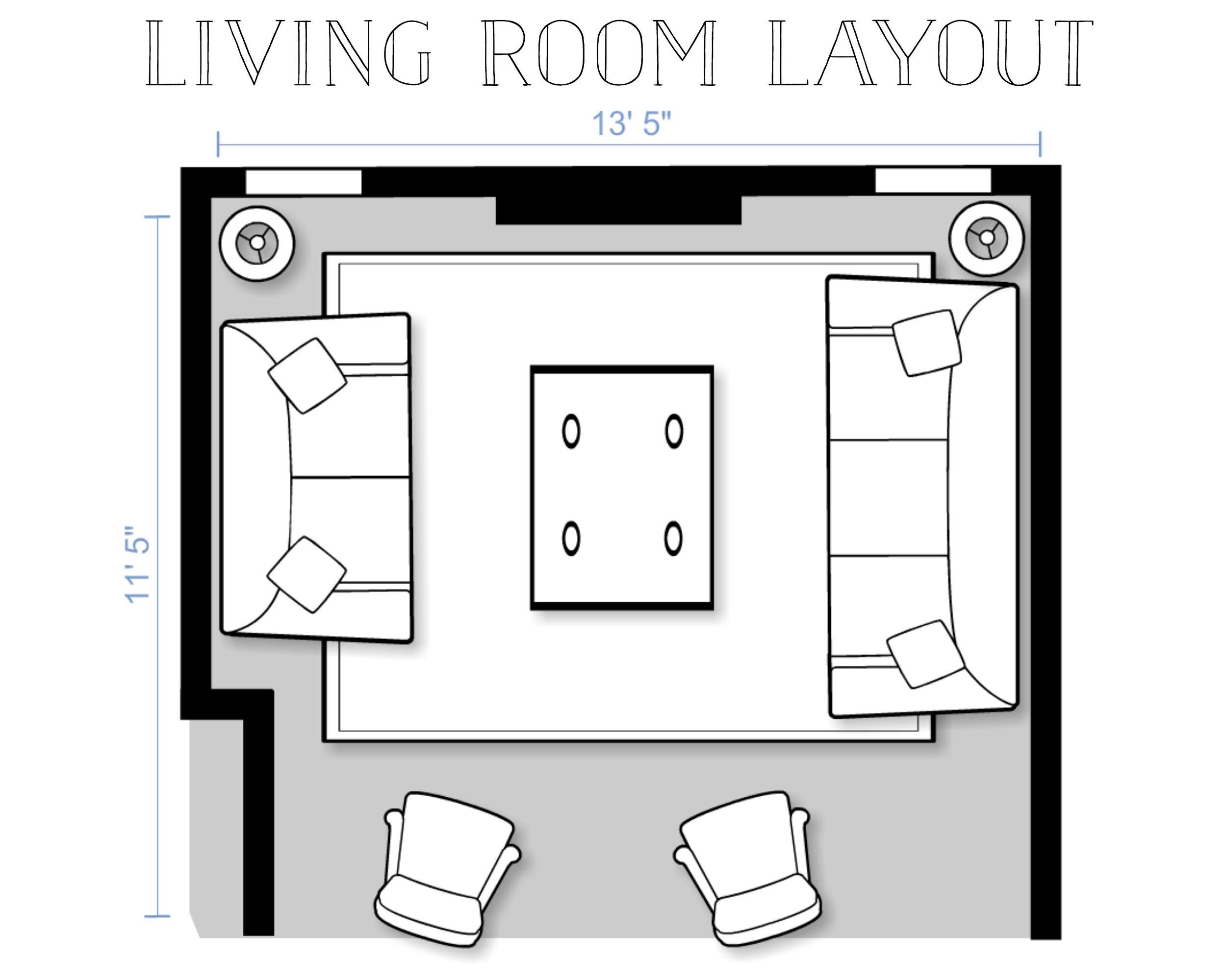 Living Room Layout Design